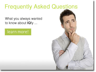 Frequently asked questions - what you always wanted to know about IQfy