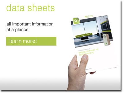 Data sheets - everything at a glance