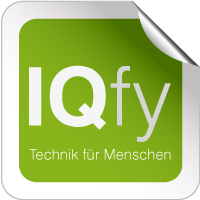 IQfy - einfach clever - Logo